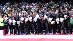 Tim Indonesia, Semifinalis Sudirman Cup 2015