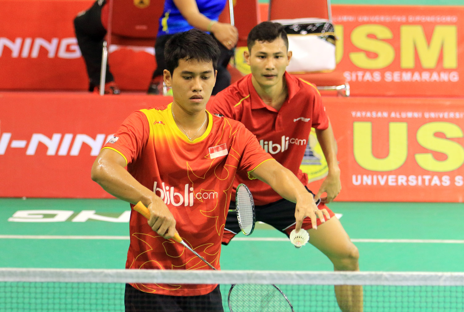 USM Li Ning International Series 2015 Hardianto Kenas Lewati